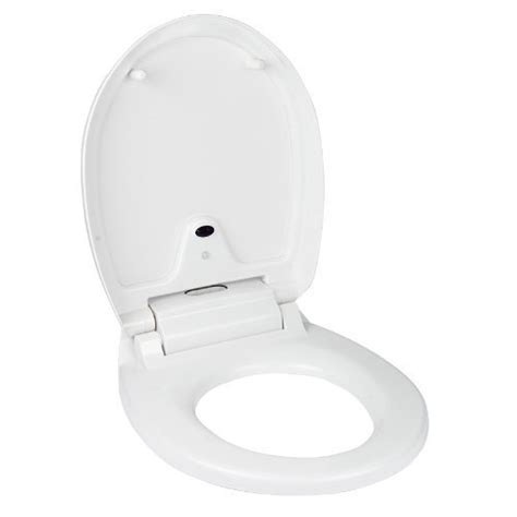 automatic toilet seat cover changer lagute automatic toilet seat with cover white