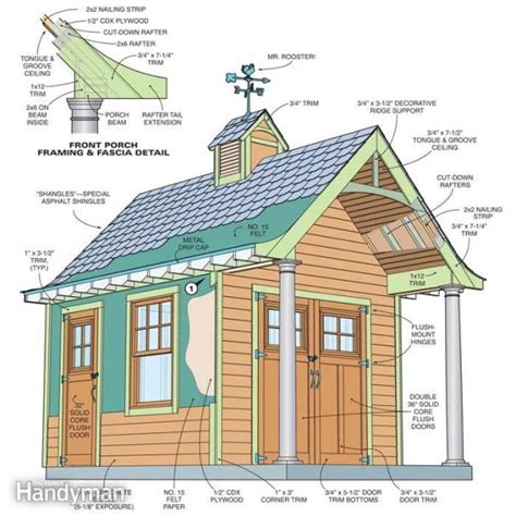 she shed building plans 108 diy shed plans with detailed step by step tutorials free