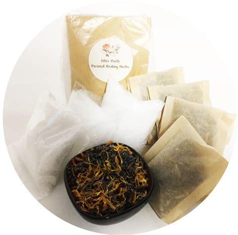 birth perineal healing herbs herbal sitz bath
