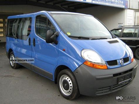 2005 renault traffic 1 9 dci 9 sitzer 1 car photo