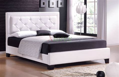 bed with headboard diamond sofa park avenue queen bed tall inspirations with