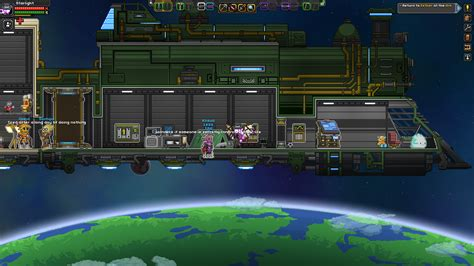 starbound bed crew members get stuck behind one another in the floor on