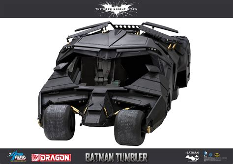 Tumbler Character Batman 1 rises batman and tumbler by models
