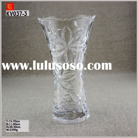 cylinder large glass vase for sale price china