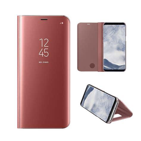 Original Fonel Simple Wallet Samsung Galaxy S7 Gold samsung galaxy s8 mirror stand cover gold