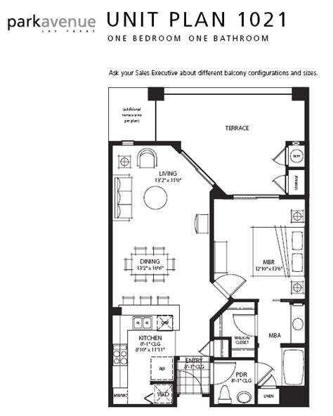 manhattan condos las vegas floor plans park avenue manhattan las vegas condos