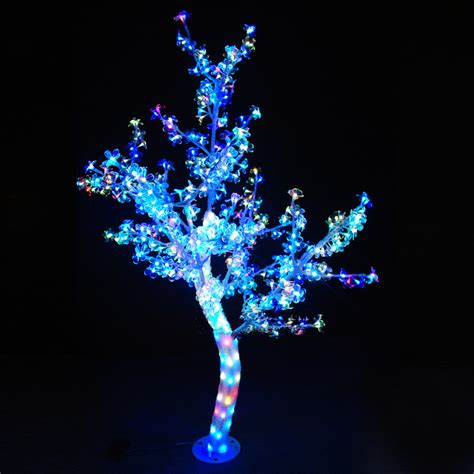 outdoor waterproof artificial 1 5m led cherry blossom tree