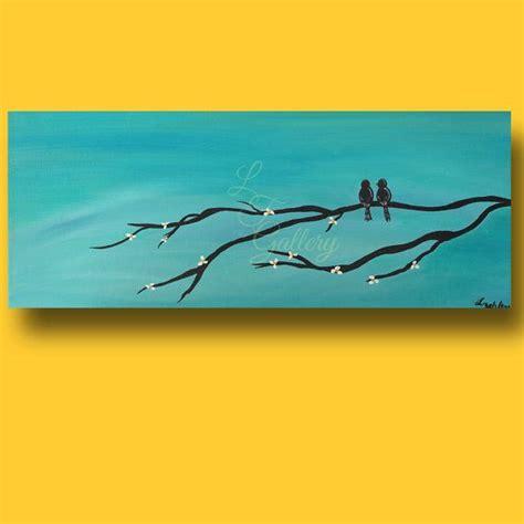 acrylic painting on canvas birds original canvas painting canvas bird painting