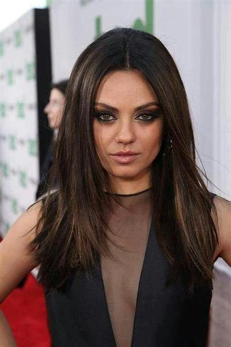 mila kunis hair color mila kunis hair and makeup i this hair color for