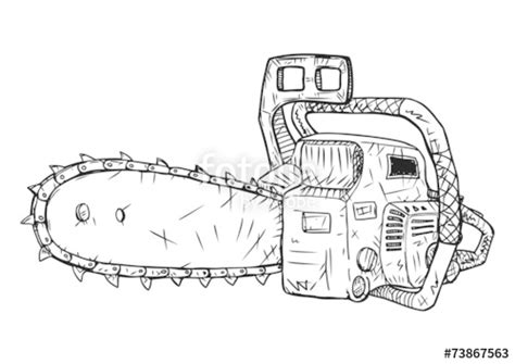 stihl chainsaw coloring pages