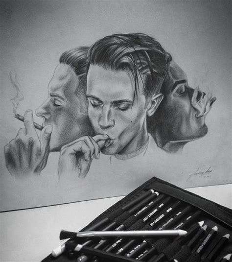 Drawing G Eazy by Fanfriday By Iba Art G Eazy Geazy Whenitsdarkout