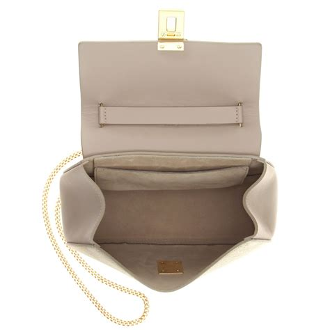 Ficcare Metallic Leather Bags by Chlo 233 Drew Metallic Leather Shoulder Bag In Metallic Lyst