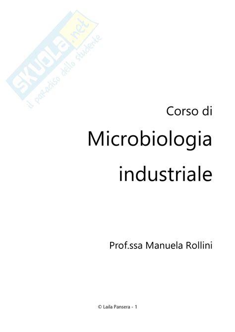 microbiologia alimentare microbiologia alimentare e industriale microbiologia