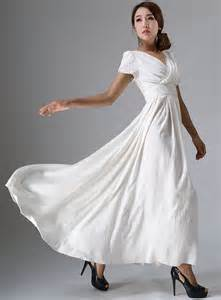 Bohemian Wedding Dress Robe De Mari 233 E Boh 232 Me Longue Robe Blanche Robe De Bal Robe
