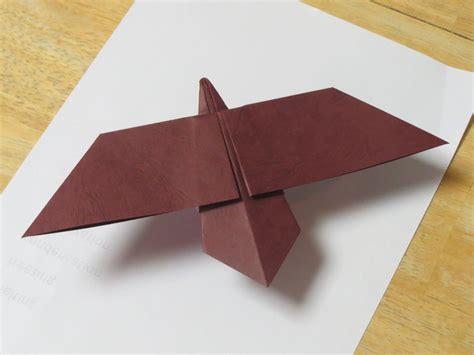 Origami Hawk - zing origami birds