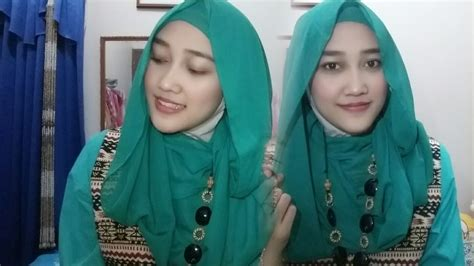 tutorial hijab ceruti tutorial hijab pashmina ceruti simple youtube