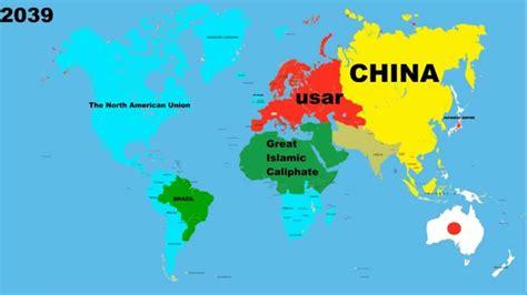 future world map future world map 2015 2040 years