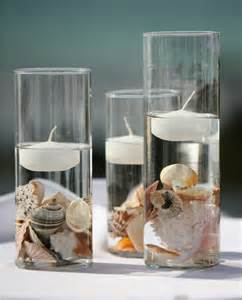 seashell decorations 18 gorgeous wedding centerpieces