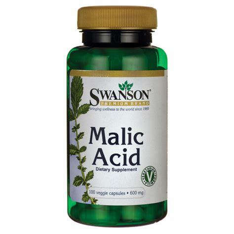 Malic Acid Brain Detox swanson premium malic acid 600 mg 100 veg caps swanson
