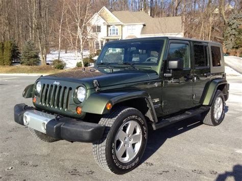 Jeep Dealers In Lancaster Pa 2008 Jeep Wrangler Unlimited For Sale In Lancaster Pa