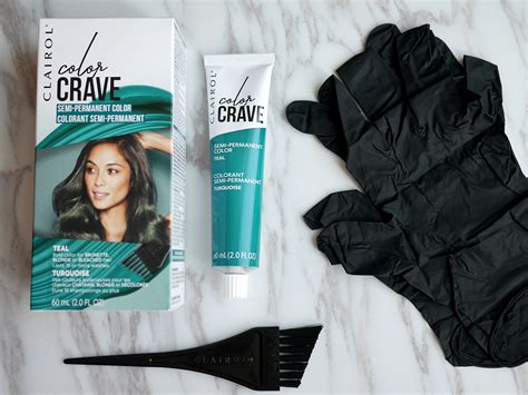 this year in review daily crave clairol color crave semi permanent hair color in teal