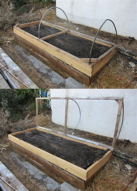 raised garden bed covers pests root simple