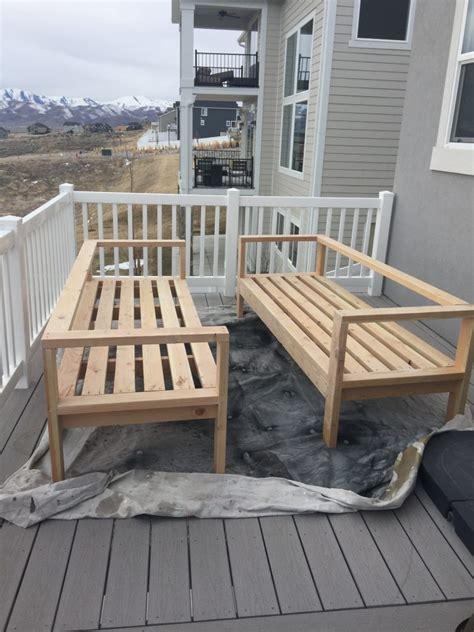 diy patio chairs diy outdoor furniture honeybear