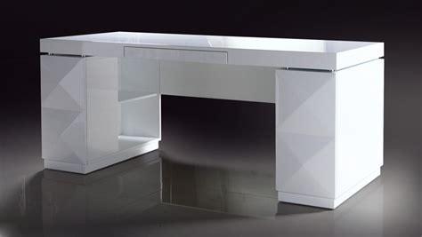 modern white desks 206 white lacquer modern desk
