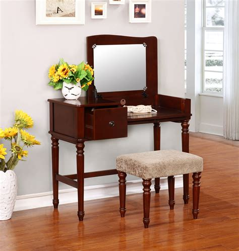 sears home decor linon wyndham vanity set