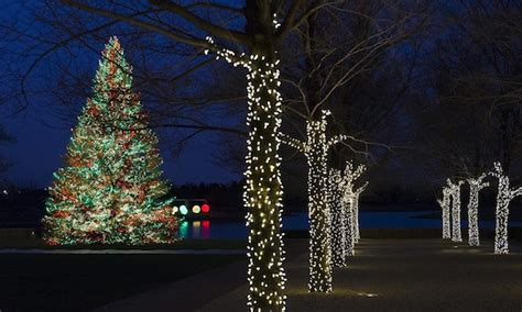 chicago botanic garden christmas lights all is bright at these city and suburban holiday light