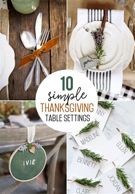 simple table settings simple table setting ideas pixshark com images