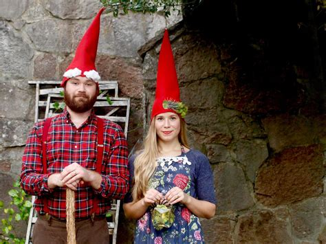 diy garden gnome costume hgtv