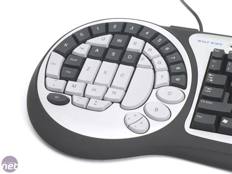 Wolf King Keyboard For Faster Person Shooting And Terrible Typing by Wolf King Timberwolf Gaming Keyboard Bit Tech Net