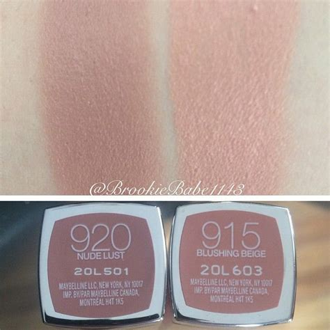 Lipstick Makeover Lust best 25 maybelline lipstick shades ideas on