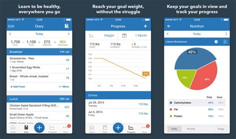myfitnesspal android 8 weight loss apps for you to try out now