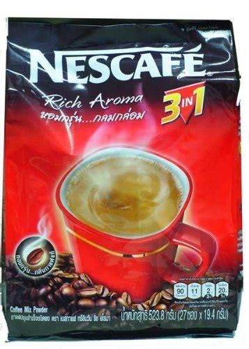 Max Creamer Sachets nescafe espresso roast 3 in 1 instant coffee