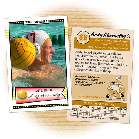 Polo Gift Card - water polo archives starr cards