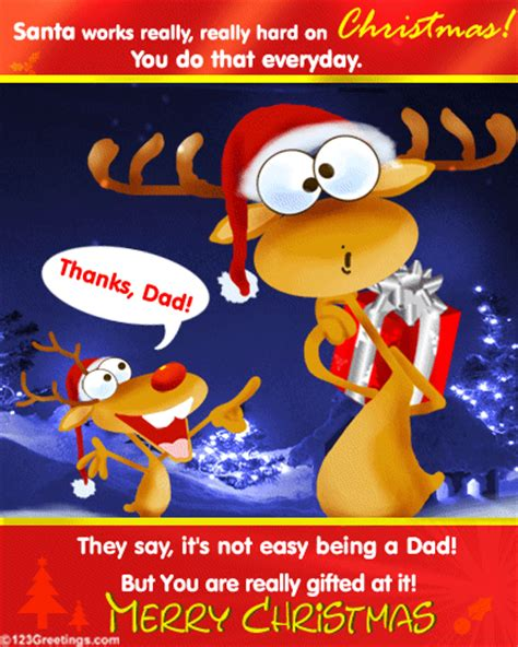merry christmas dad  family ecards greeting cards