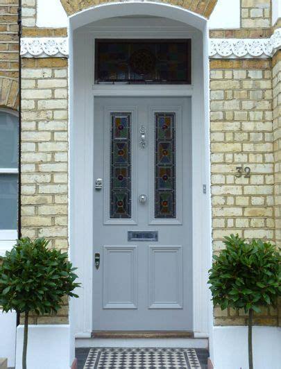 edwardian stained glass front door amazing spaces blue doors