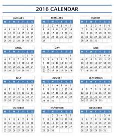 Calendar Templates by 2016 Calendar Templates Microsoft And Open Office Templates