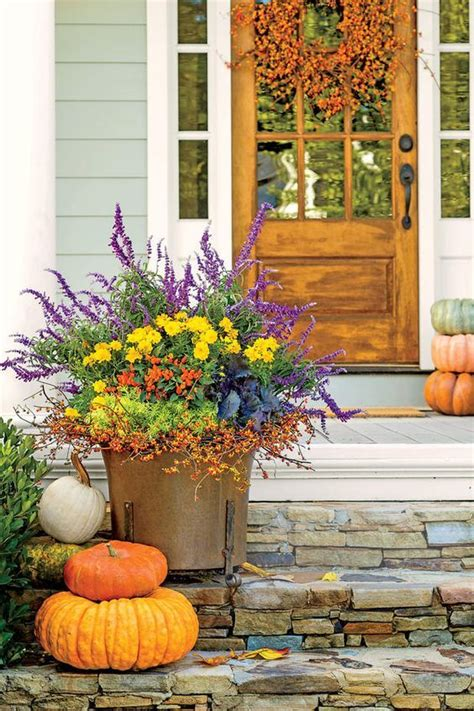 southern living fall decor 25 best ideas about fall planters on fall