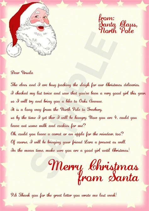 letter santa stationary template bing images