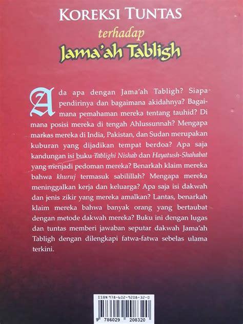 Buku Islam Paket Syarah Riyadhus Shalihin buku koreksi tuntas terhadap jamaah tabligh toko muslim