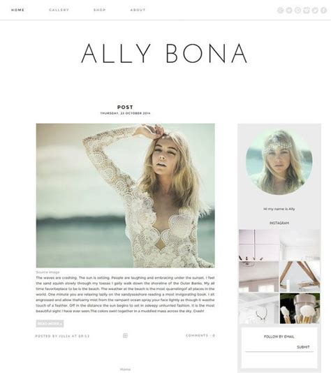 38 best images about blogger templates on pinterest