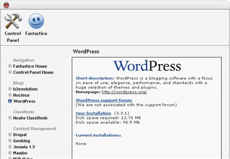 cara membuat website dengan wordpress di cpanel install wordpress di cpanel dengan fantastico tutorial