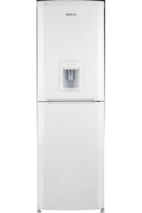 garage frostfrei beko cda563fw fridge freezer white buy today