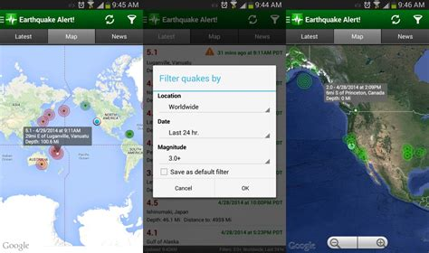earthquake app shakealert can detect an earthquake early and send warning