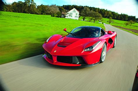 ferrari presents another laferrari customer painter