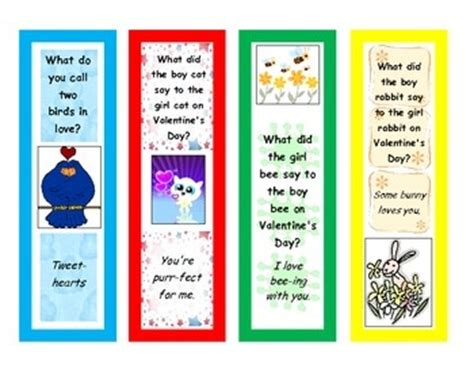 valentines day riddles s day joke riddle bookmarks valentines day