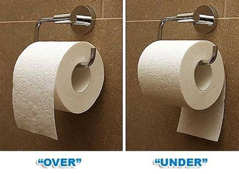 toilet paper proper way there is actually a proper way to hang toilet paper and it